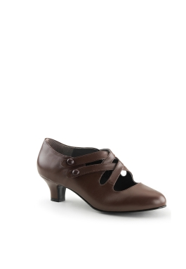 Victorian Edwardian Brown Shoe