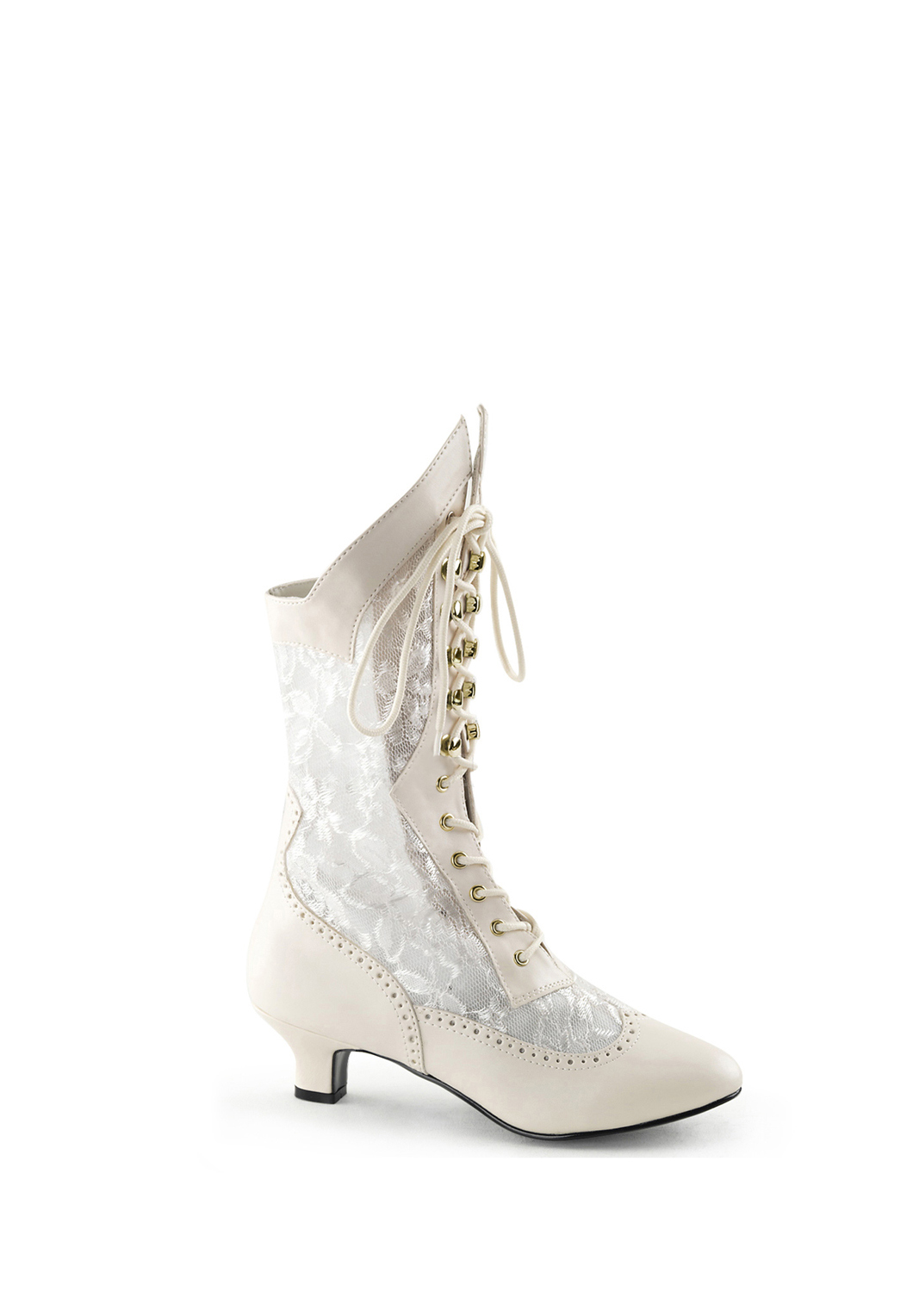 Ivory Victorian Boot