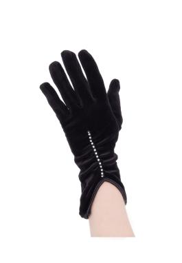Black Velvet Gloves