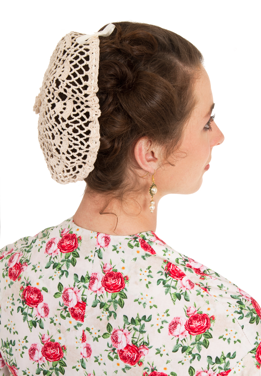 Victorian Crocheted  Snood
