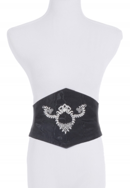 Diamond-Front Corselete