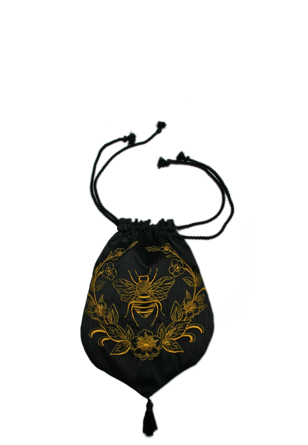 Bee Dupioni Purse