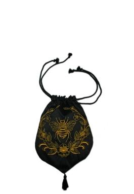 Bee Dupioni Purse