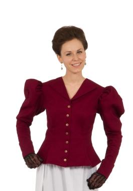 Victorian Old West Twill Jacket