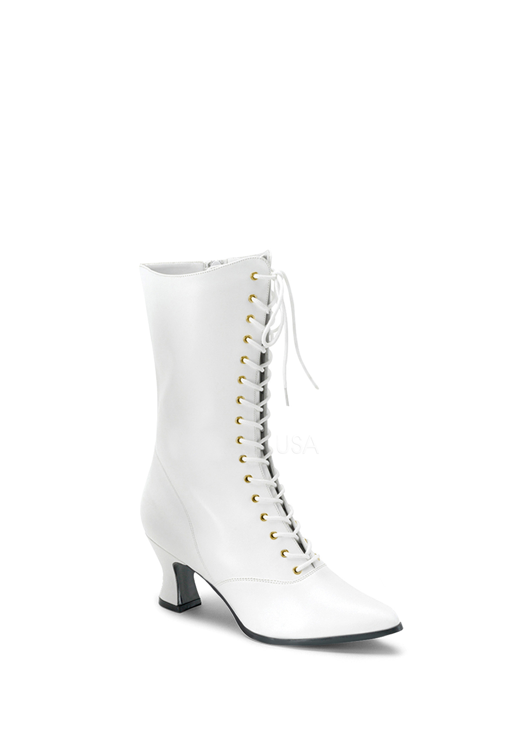 White Victorian Boot