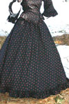 Victorian Calico skirt