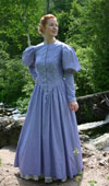 Victorian Calico Gown on sale