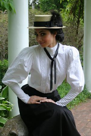 Classic Victorian Blouse