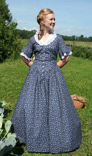Calico Prairie Dress