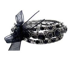 3 Jet Crystal Bracelet