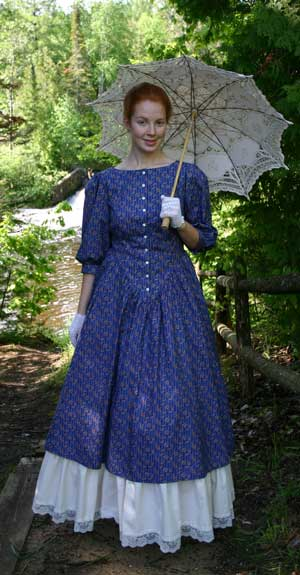 Old West Dress and Petticoat