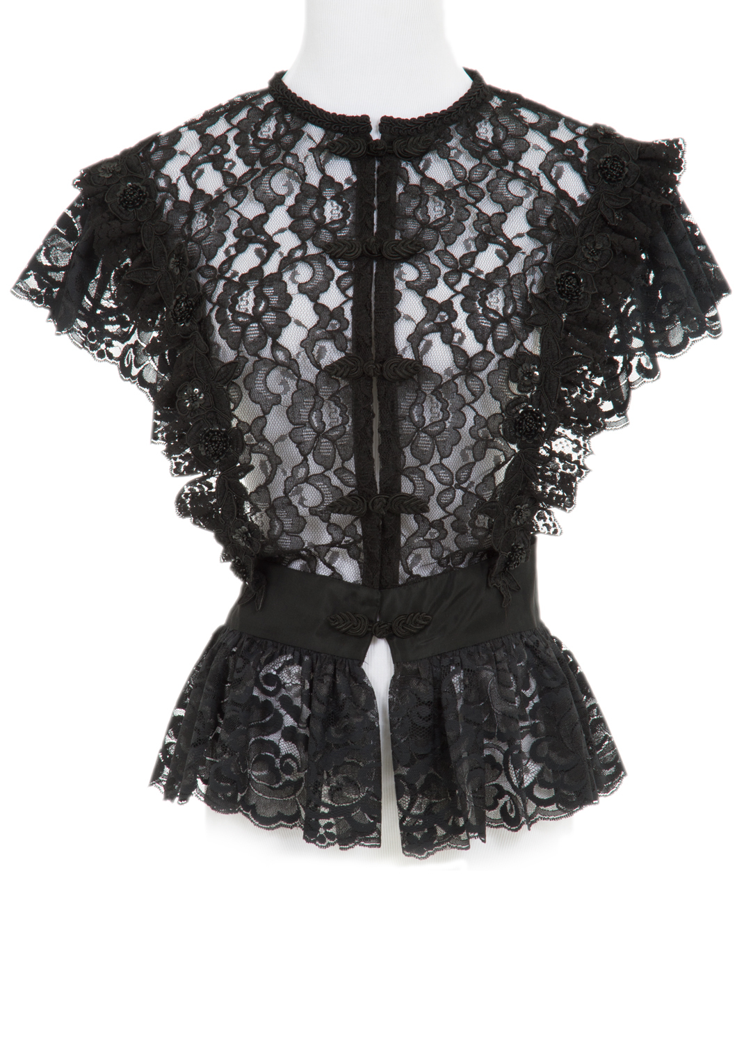Victorian Lace Basque