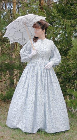 Civil War Print Dress