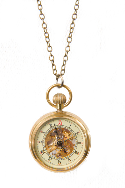 Steampunk Mechanical Watch Pendant