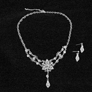 Austrian Crystal Necklace Set