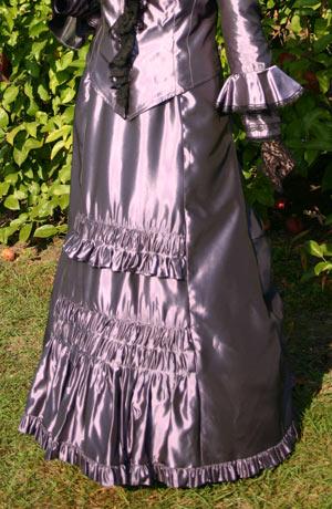 Victorian Taffeta Skirt