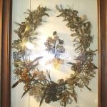 Hairwork Wreath