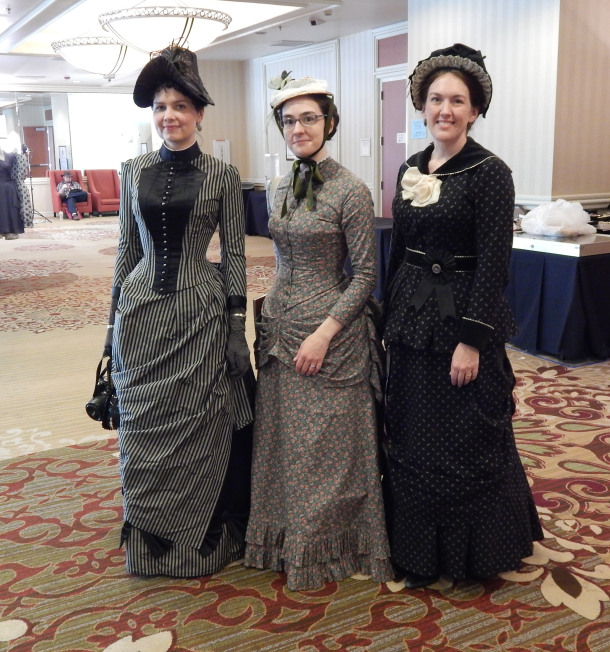 Costume College 2015 - Ladies from the 1880s