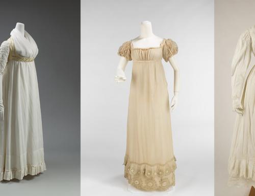 Fashion Evolution: Regency Period