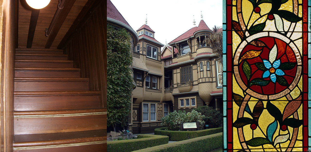 Winchester mystery house eccentric victorian legacy for Legacy house