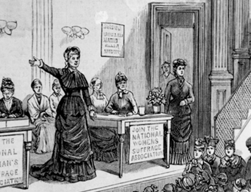 Lucy Brand, First Woman to Vote in New York