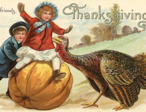 Happy Thanksgiving – Share Your Favorite Story!