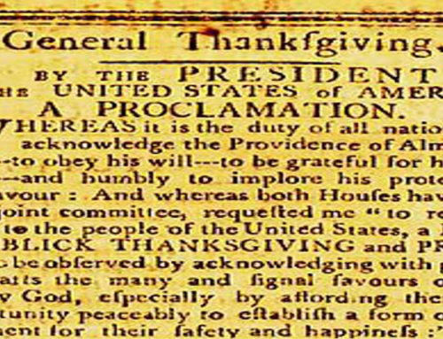 Thanksgiving and the American Civil War