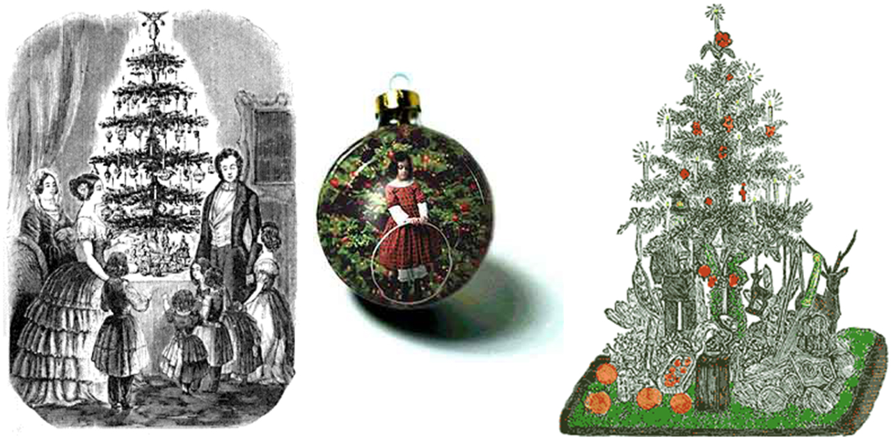 view larger image victorian christmas trees - Victorian Christmas Trees