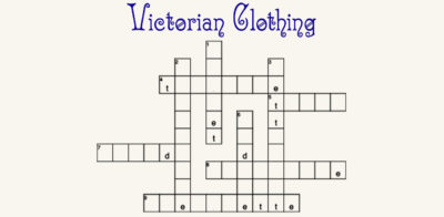 victorian clothing crossword contest day one
