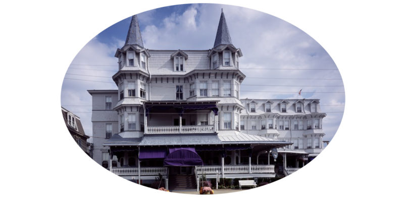 Victorian home Cape May New Jersey