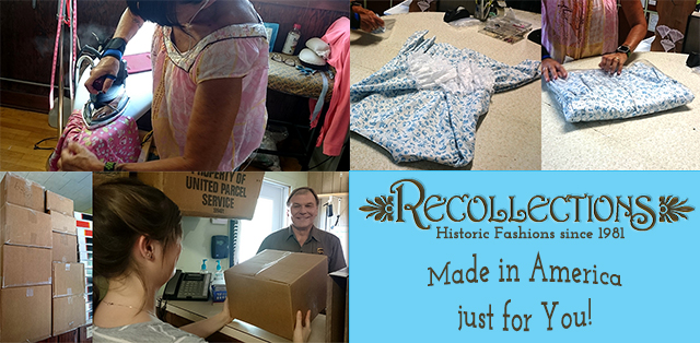 Recollections clothing - made in America