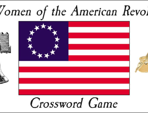 25 Women of the American Revolution Crossword Game