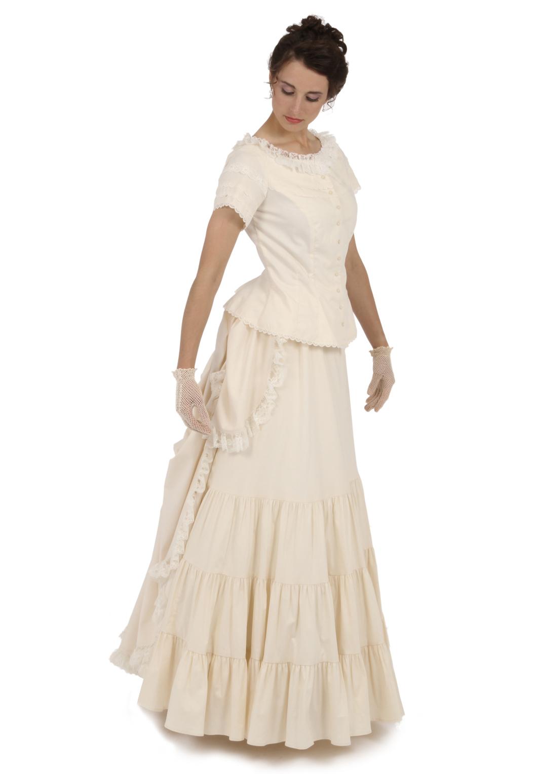 Jessie Victorian Cotton Dress | Recollections