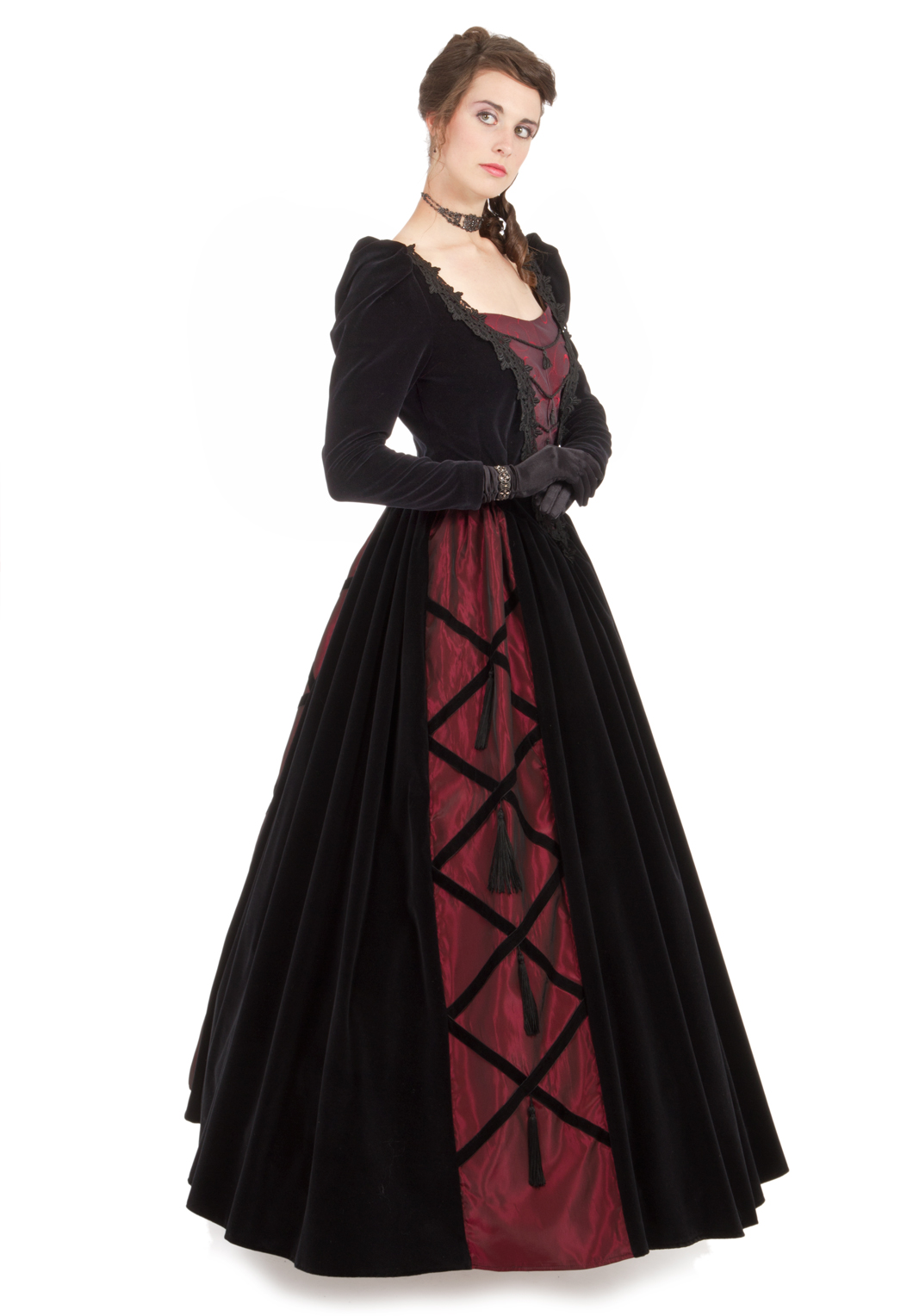 Noelle Victorian Ball Gown Recollections