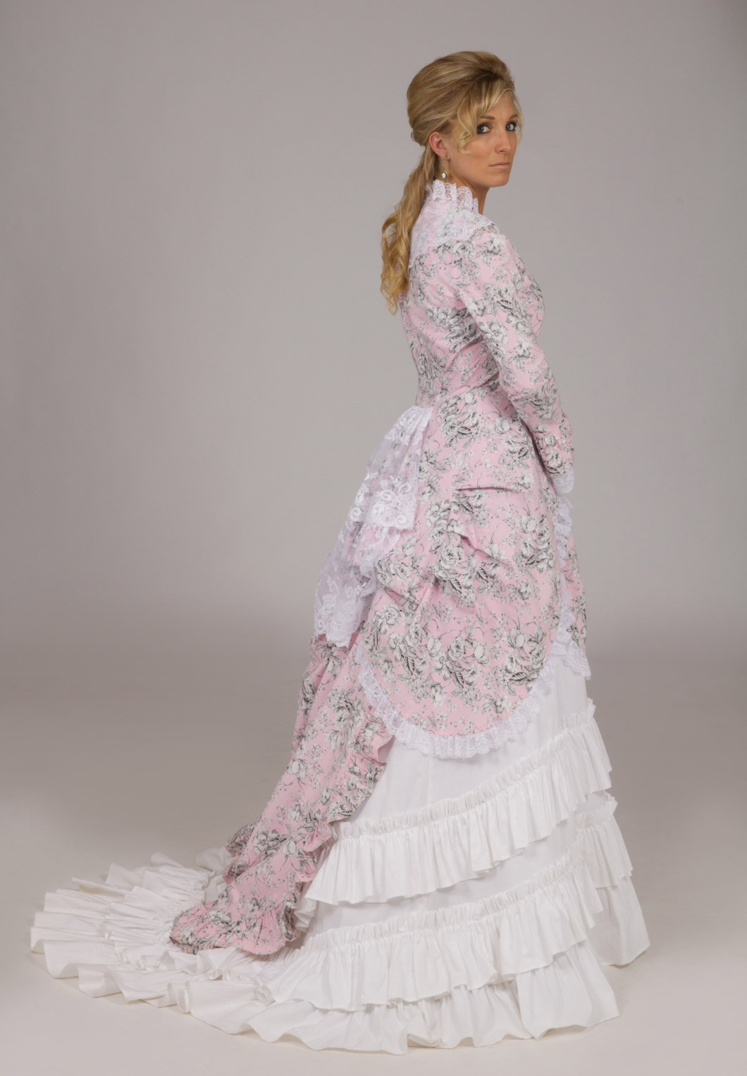 Lady johanna polonaise ensemble recollections for Old west wedding dresses