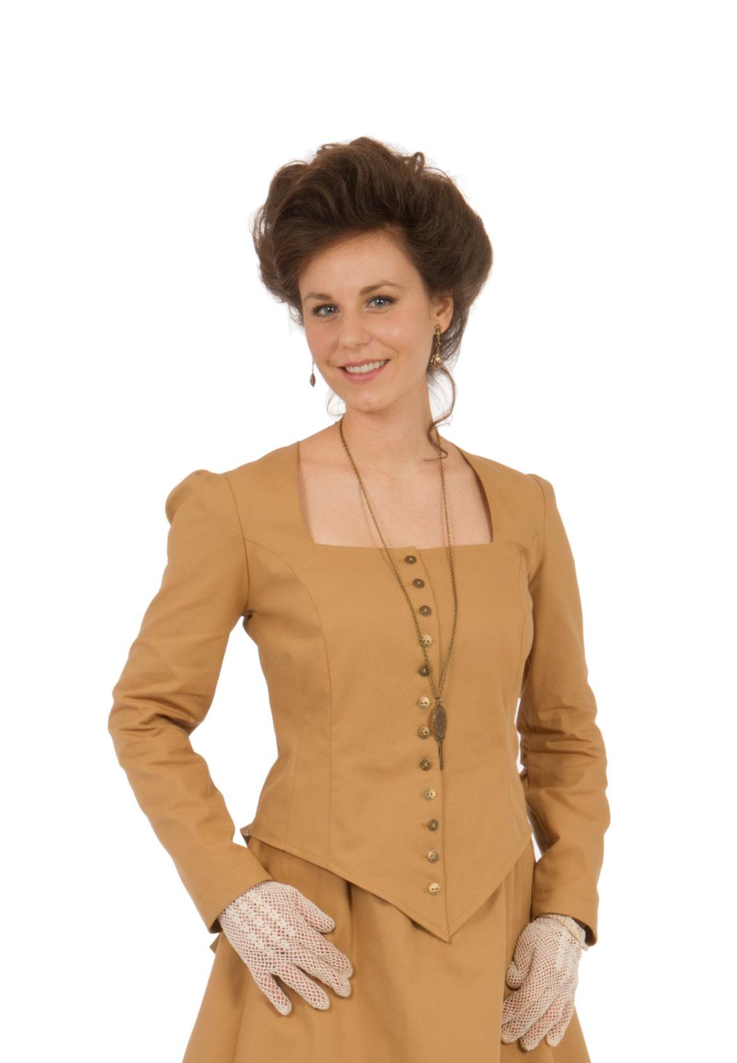266143c144ca Victorian Old West Twill Jacket. $119.95. Twill Victorian Style Jacket