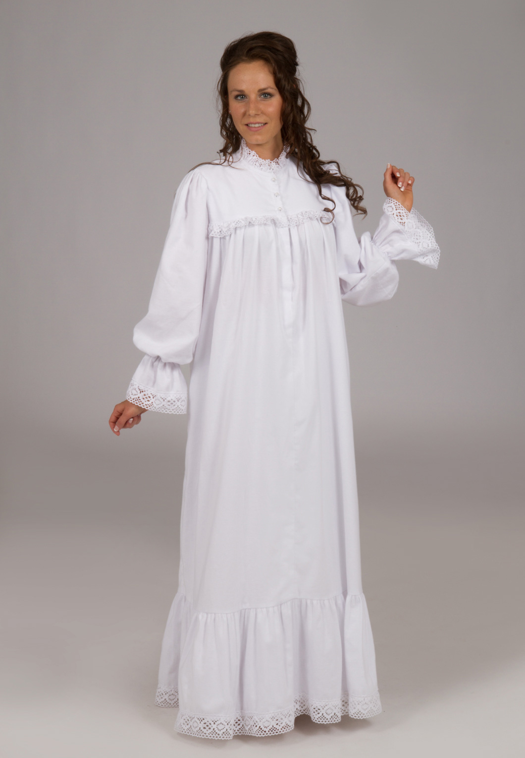 Victorian Flannel Nightgown  ed46326b1