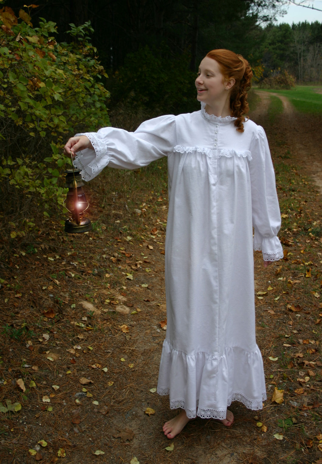 Victorian Flannel Nightgown Recollections