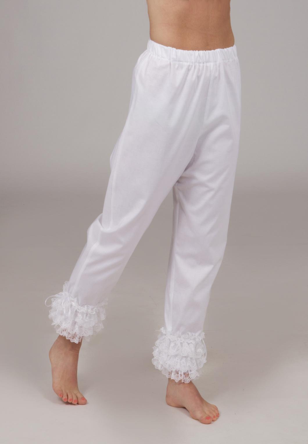 Victorian Flounced Lace Pantaloons 85690afaf