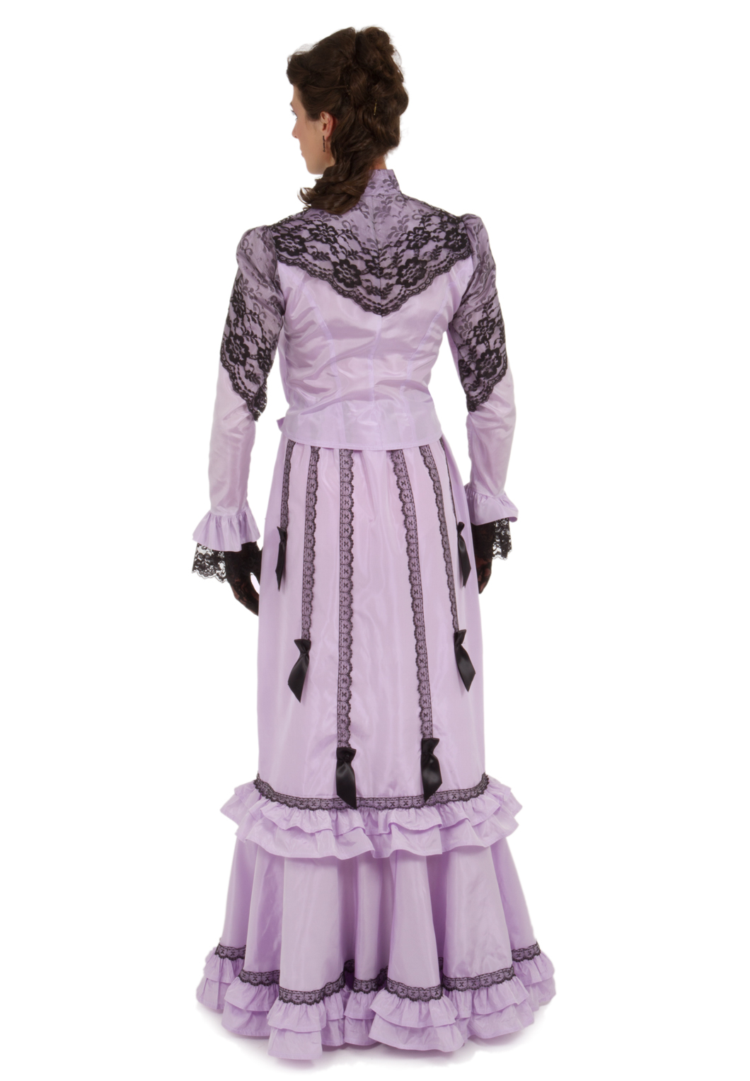 4c4b4a4bcbd857 Lilian Edwardian Fancy Blouse and Skirt Dress