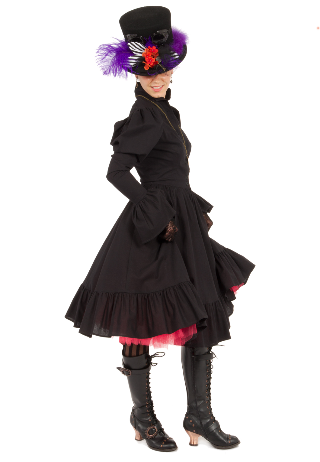 Steampunk Victorian Dress Recollections