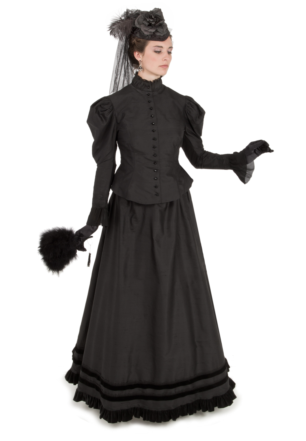 Mourning Dress from Recollections