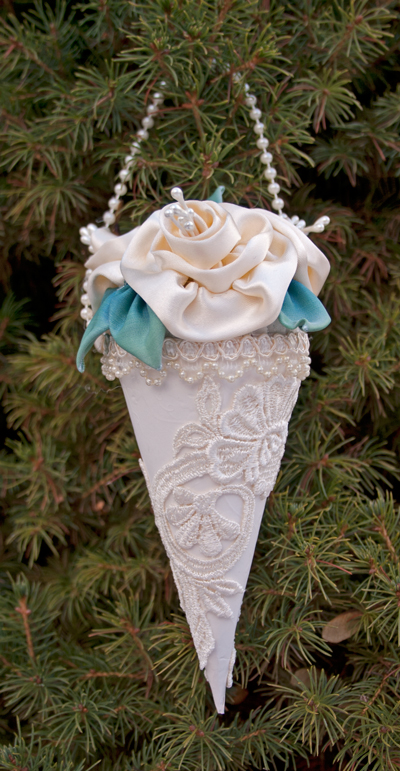 Victorian Christmas Cones Recollections