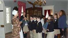 Classroom tours at Liberty Hall Museum