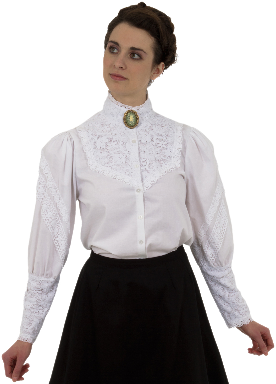 e6f2f60e40598c A Reformation  The Victorian Blouse - Recollections Blog