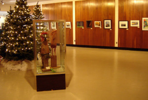 juried artwork on display at the Besser Museum