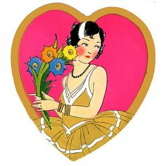 Our heartfelt thanks in a 1920s Valentine
