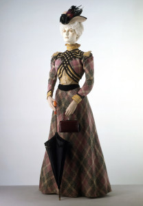 Victorian dress at Victoria and Albert Museum in London