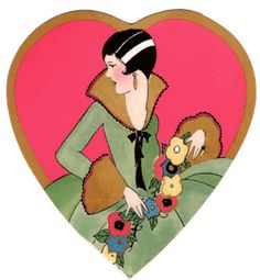 1920s Valentine