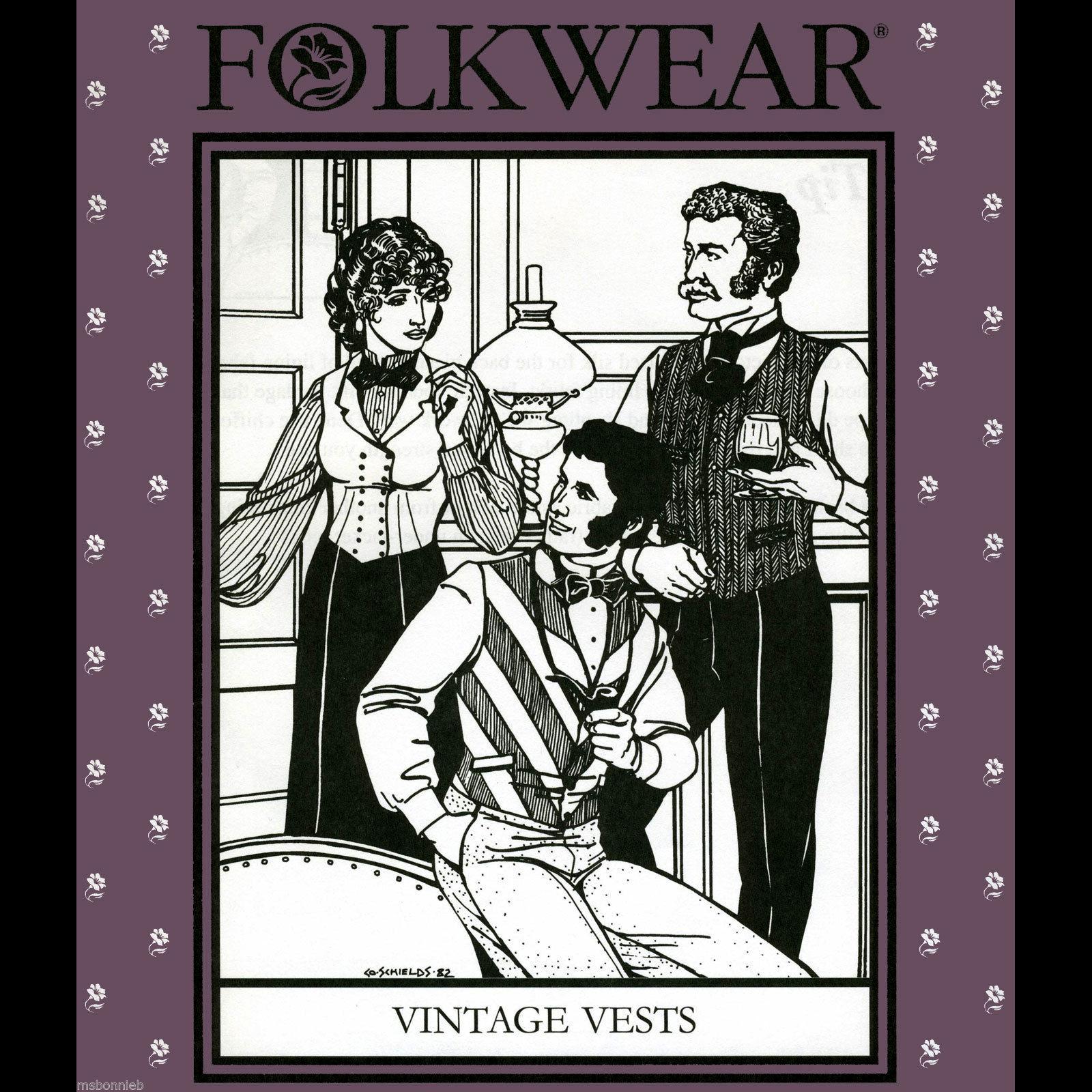 Folkwear vest pattern cover